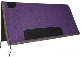 "Showman™ 32"" x 32"" solid colored pad with felt bottom"